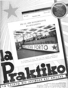 La Praktiko : la gazeto, kiu instruas kaj amuzas. Jaro 30a, nr 9=747 (1966)