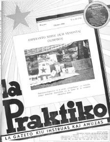 La Praktiko : la gazeto, kiu instruas kaj amuzas. Jaro 30a, nr 10=748 (1966)