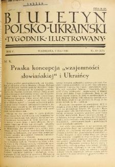 Biuletyn Polsko-Ukraiński. T. 5, R. 5, nr 18=157 (3 Maja 1936)