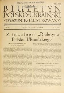 Biuletyn Polsko-Ukraiński. T. 6, R. 6, nr 26=217 (27 Czerwiec 1937)