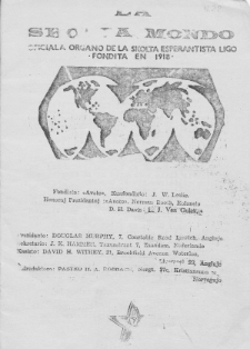 La Scolta Mondo. Vol. 3, n. 22 (1967/1968)