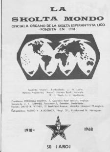 La Scolta Mondo. Vol. 3, n. 25 (1967/1968)