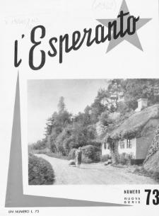L'Esperanto. Anno 40, no 73 (1962).