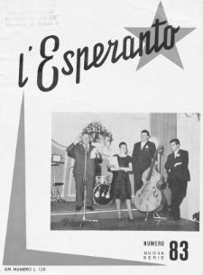 L'Esperanto. Anno 41, no 83 (1963)