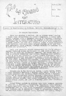 Tra la Mondo kaj literaturo.Jaro 3, Nr 5=29 (1952)