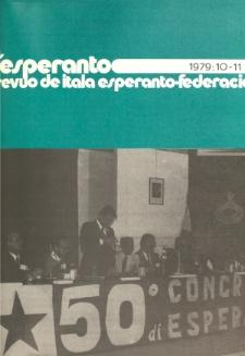L'Esperanto. Anno 57, no 10/11 (1979)