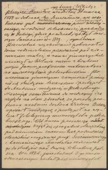 Papiery Stanisława Ptaszyckiego zawierające przeważnie wypisy z rękopisów różnych bibliotek dotyczące historii literatury polskiej
