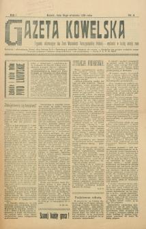 Gazeta Kowelska : tygodnik informacyjny dla Ziem Wschodnich Rzeczypospolitej Polskiej. R. 1, no 9 (1925)