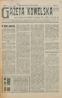 Gazeta Kowelska : tygodnik informacyjny dla Ziem Wschodnich Rzeczypospolitej Polskiej. R. 1, no 10 (1925)