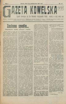 Gazeta Kowelska : tygodnik informacyjny dla Ziem Wschodnich Rzeczypospolitej Polskiej. R. 1, no 13 (1925)