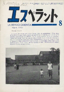 La Revuo Orienta.Jaro 43a, No 8 (1962)