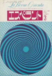 La Revuo Orienta.Jaro 48a, No 3 (1967)