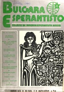 Bulgara Esperantisto. Jaro 53, n. 1 (1984)