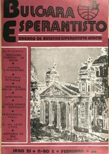 Bulgara Esperantisto. Jaro 53, n. 2 (1984)