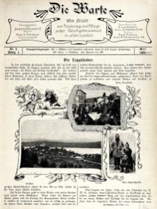 Die Warte. Jg. 1, nr 2 (1902)