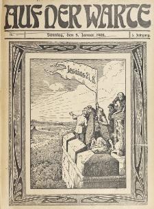 Die Warte. Jg. 5, nr 1 (1908)