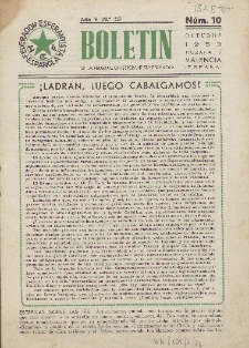 Boletín de la Federación Esperantista Española. Anno 5, n. 10 (1953)