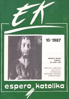 Espero Katolika.Jarkolekto 84, No 10=795 (1987)