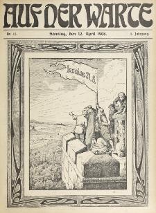 Die Warte. Jg. 5, nr 15 (1908)