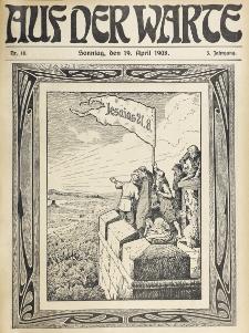 Die Warte. Jg. 5, nr 16 (1908)