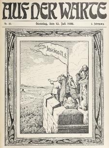 Die Warte. Jg. 5, nr 28 (1908)