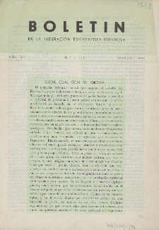Boletín de la Federación Esperantista Española. Anno 7, n. 3 (1955)