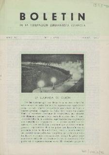 Boletín de la Federación Esperantista Española. Anno 7, n. 6 (1955)