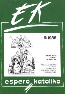 Espero Katolika.Jarkolekto 85, No 6=803 (1988)