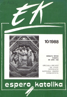 Espero Katolika.Jarkolekto 85, No 10=807 (1988)