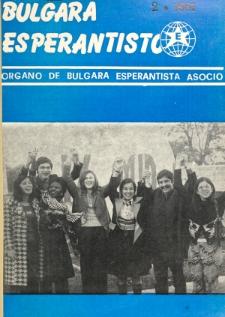 Bulgara Esperantisto. Jaro 50, n. 2 (1981)