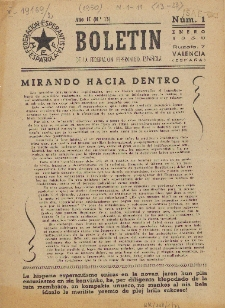 Boletín de la Federación Esperantista Española. Anno 2, n. 1 (1950)
