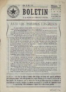 Boletín de la Federación Esperantista Española. Anno 2, n. 7 (1950)