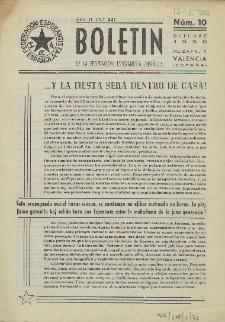 Boletín de la Federación Esperantista Española. Anno 2, n. 10 (1950)