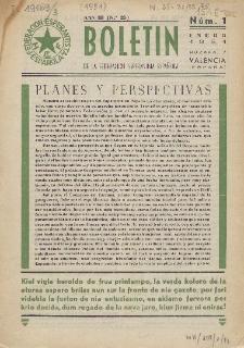 Boletín de la Federación Esperantista Española. Anno 3, n. 1 (1951)