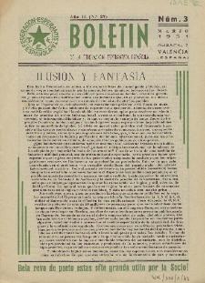 Boletín de la Federación Esperantista Española. Anno 3, n. 3 (1951)