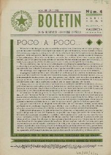 Boletín de la Federación Esperantista Española. Anno 3, n. 4 (1951)