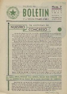Boletín de la Federación Esperantista Española. Anno 3, n. 7 (1951)