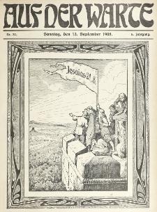 Die Warte. Jg. 5, nr 37 (1908)