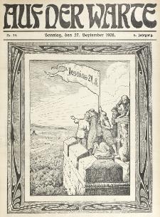 Die Warte. Jg. 5, nr 39 (1908)
