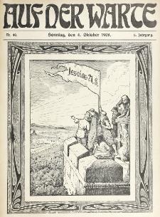 Die Warte. Jg. 5, nr 40 (1908)