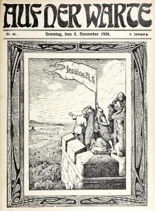 Die Warte. Jg. 5, nr 45 (1908)