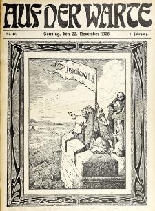 Die Warte. Jg. 5, nr 47 (1908)