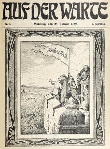 Die Warte. Jg. 6, nr 4 (1909)