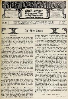 Die Warte. Jg. 6, nr 40 (1909)