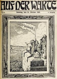 Die Warte. Jg. 6, nr 43 (1909)
