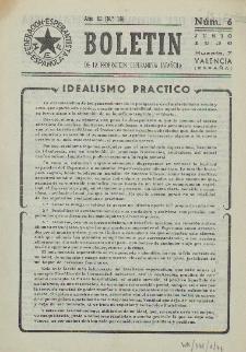Boletín de la Federación Esperantista Española. Anno 2, n. 6 (1950)