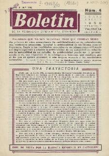 Boletín de la Federación Esperantista Española. Anno 10, n. 4 (1958)
