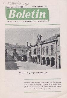Boletín de la Federación Esperantista Española. Anno 12, n. 4 (1960)