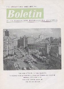 Boletín de la Federación Esperantista Española. Ep. 2, A. 2, n. 6 (1964)