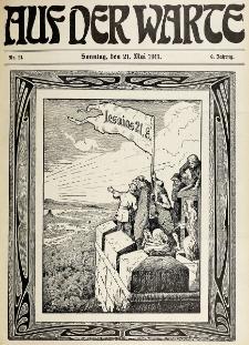Die Warte. Jg. 8, nr 21 (1911)